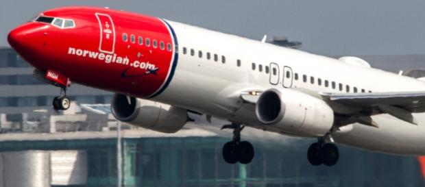 Un Boeing 737 della Norwegian Air