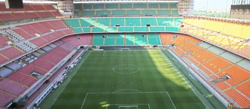Un'immagine dello stadio di San Siro