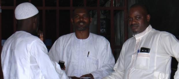 Des guinéens au quartier Akwa à Douala