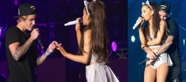 Justin e Ariana são amigos pessoais