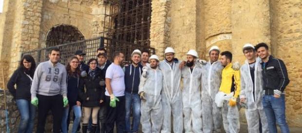 Naro, cittadini attivi: puliamo il Vecchio Duomo