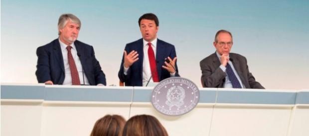 Renzi, Padoan, Poletti: dubbi su riforma pensioni