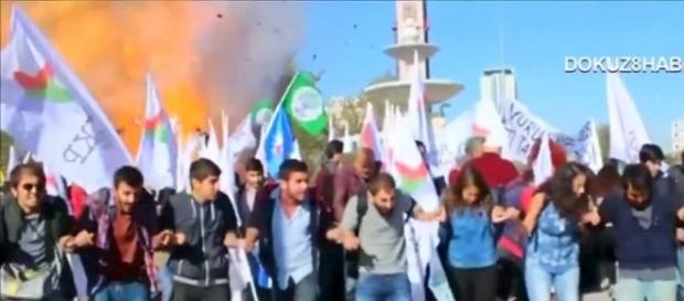 Strage di Ankara, morte 97 persone