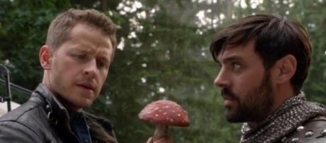 Once Upon a Time 5x03, David e King Arthur