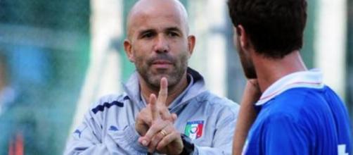 Gigi Di Biagio Ct. dell'Italia U-21