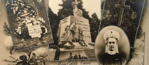 In memory of war heroine Edith Cavell