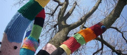 """Knit knot tree"" (Jafagirls, Ohio)"