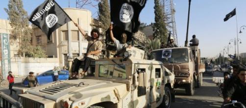 Militanti dello Stato islamico in Irak