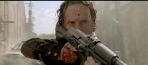 Rick vuelve a enfrentarse a los zombies