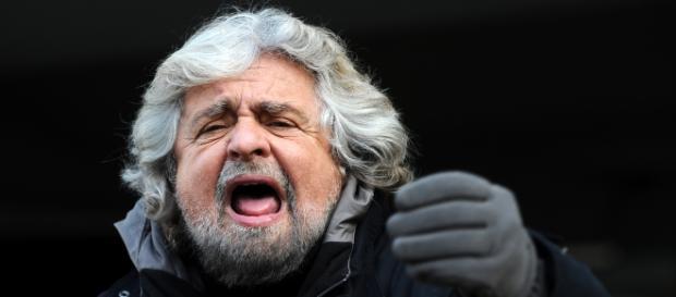 Beppe Grillo leader e fondatore del M5S
