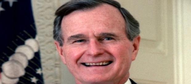 il vice presidente degli Stati Uniti George Bush