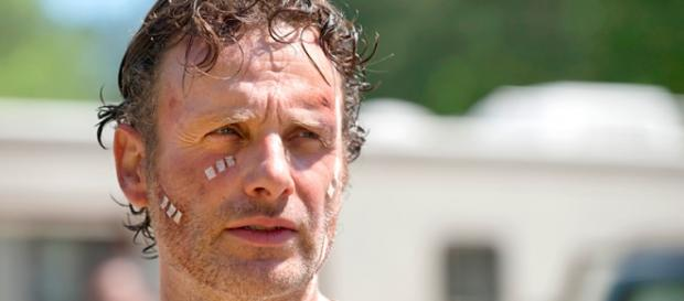 Rick Grimes in The Walking Dead 6x01