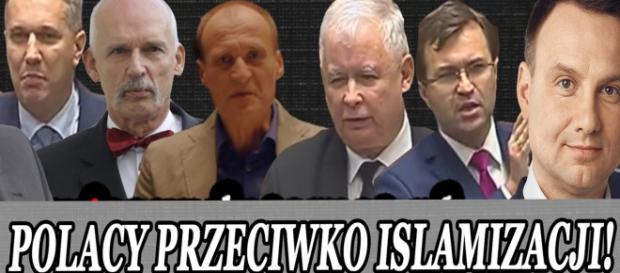 Znani polscy politycy przeciwko islamizacji