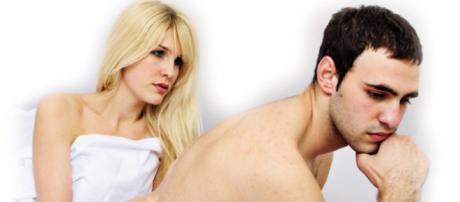 Una coppia in difficoltà sessuale