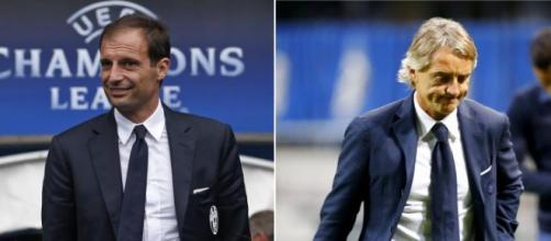 Inter-Juventus, Mancini contro Allegri