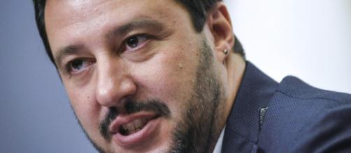 Matteo Salvini, leader della Leg Nord