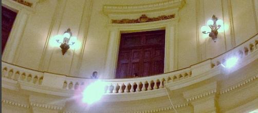 Pátio interno do CCBB. Foto: Adryana Diniz