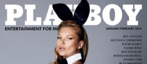 Portada de la revista Playboy.