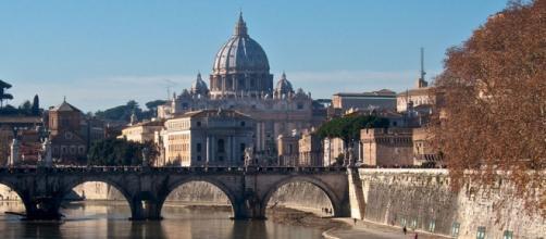 Uno scorcio della città eterna: Roma