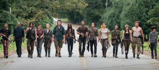 """Bohaterowie """"The Walking Dead"""" (fot. Facebook)"""