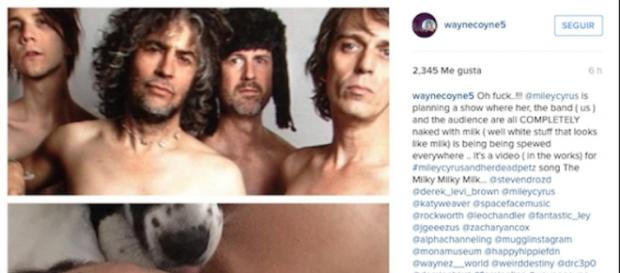 Captura del Instagram de Coney con el anuncio