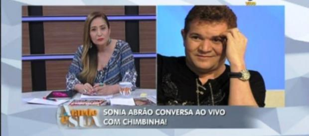 Chimbinha fala com Sonia Abrão