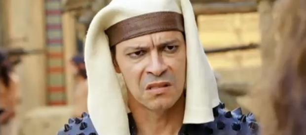 Heitor Martinez é Apuki em 'Os Dez Mandamentos'