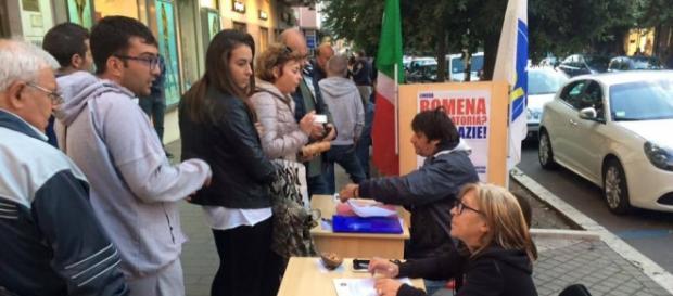 Italienii semnează împotriva limbii române