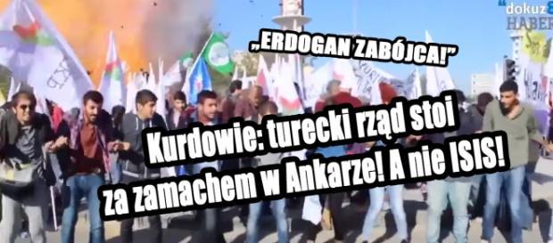 Kurdowie uważają że turecki rząd zaplanował zamach