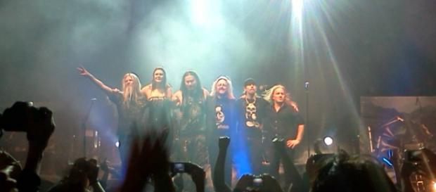 La banda se presentó por última vez en 2012