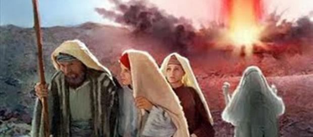 Ló e a sua família escaparam ao castigo de Deus