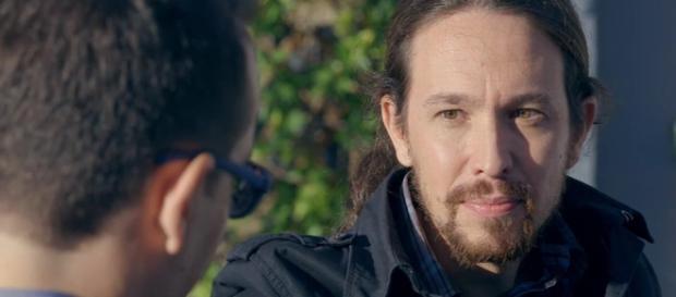 Risto Mejide entrevistando a Pablo Iglesias