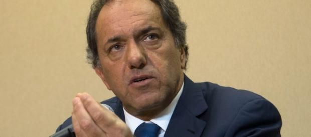 Scioli, candidato del Frente para la Victoria