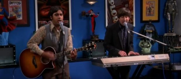 The Big Bang Theory 9x04, Raj e Howard