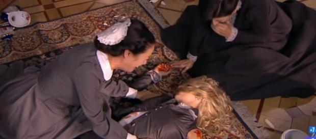 Una Vita: Fabiana disperata, Cayetana è morta