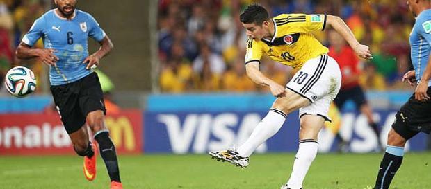 Uruguai joga contra Colômbia nesta terça