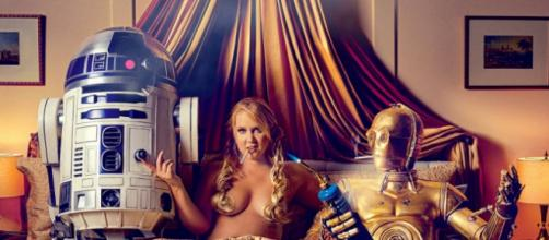 Amy Schumer Star Wars photoshoot for GQ magazine