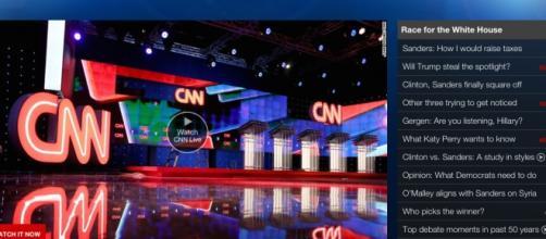 CNN is hosting the first democratic debate