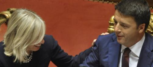 Il Premier Renzi e il ministro Giannini