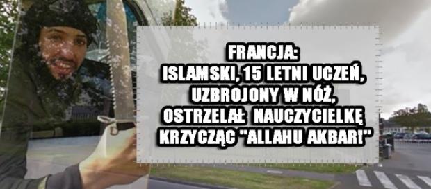 15-letni islamista próbował zabić nauczycielkę.