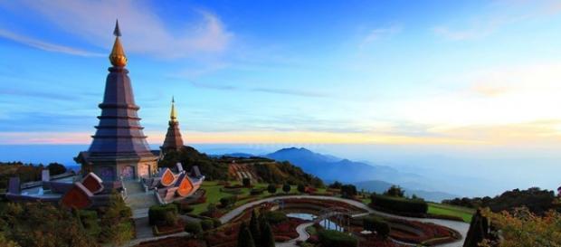 A contatto con la natura della Thailandia.