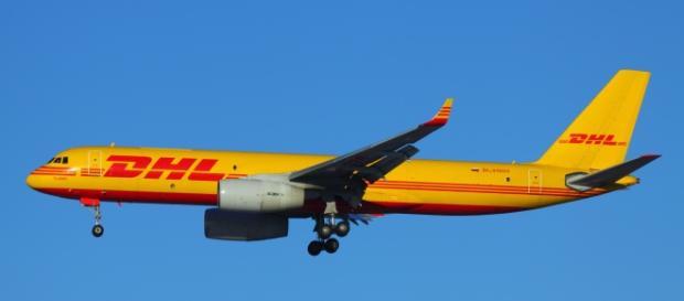 Boing utilizado nas entregas da DHL