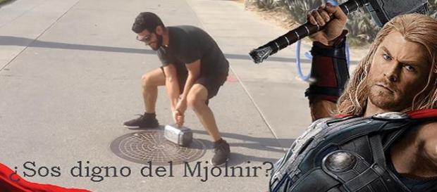 ¿Crees que sos digno del Mjolnir?