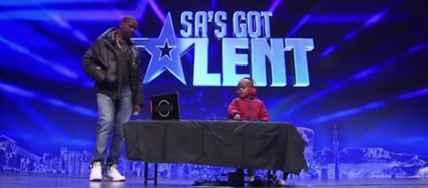 DJ Arch Jr w talent-show (fot. youtube)