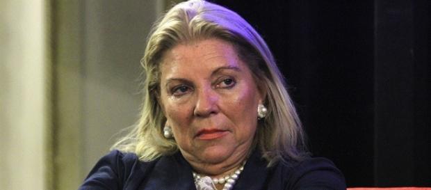 Elisa Carrió acuso a ciertos medios de censura
