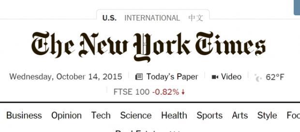 New York Times stage a partire dal 6 giugno 2016
