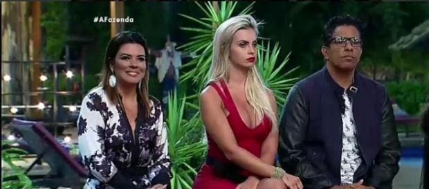 Roça: Mara, Veridiana e Luka (Reprodução/Record)