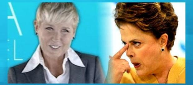 Xuxa faz duras críticas a presidente do Brasil