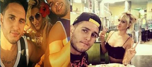 Ylenia con Omar, su supuesto novio secreto