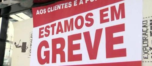 Greve dos bancários em todo o Brasil